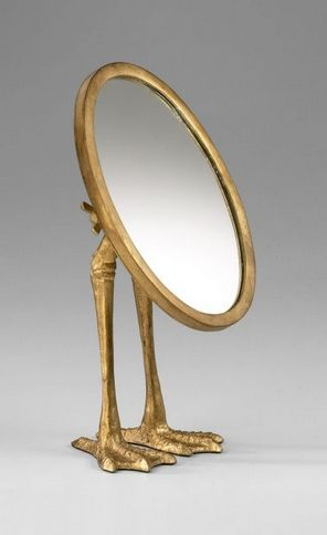 mirror with feet