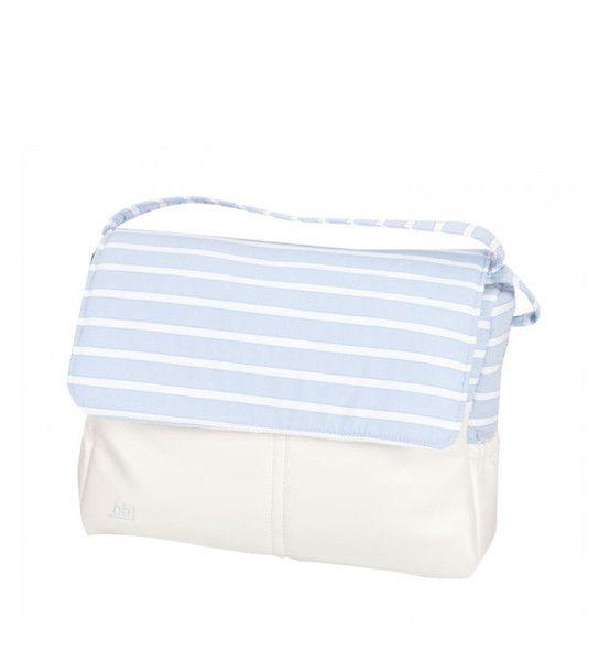 Baby blue baby changing bag - baby changing bag - babymaC - Stylish Spanish baby clothes