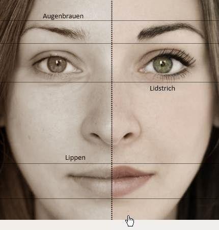 Permanent Make-Up im Gesicht - Augenbrauen, Lidstrich, Lippe und Brauenverdichtung - Permanent Make-Up in Konstanz bei http://www.permanent-akzente.de
