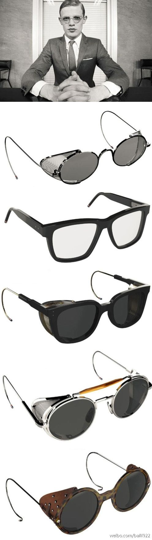 Classics - Thom Browne x Dita Eyewear Fall 2011 Collection #Dita #ThomBrowne #GetTheLook
