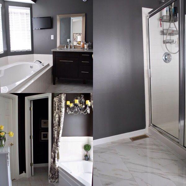 Charcoal Gray Master Bathroom Inspirations I Think I Ll