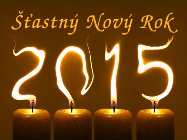 PF 2015 novoročenka s textem Šťastný Nový Rok zdarma ke stažení