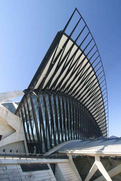 Architecture by me: Gare de Saint-Exupéry TGV, Santiago Calatrava   Lyon-Saint Exupéry   France