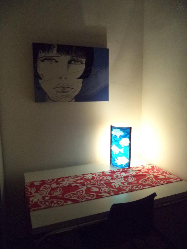 Dai un'occhiata a questo fantastico annuncio su Airbnb: STANZA PRIVATA IN APPARTAMENTO a Salerno