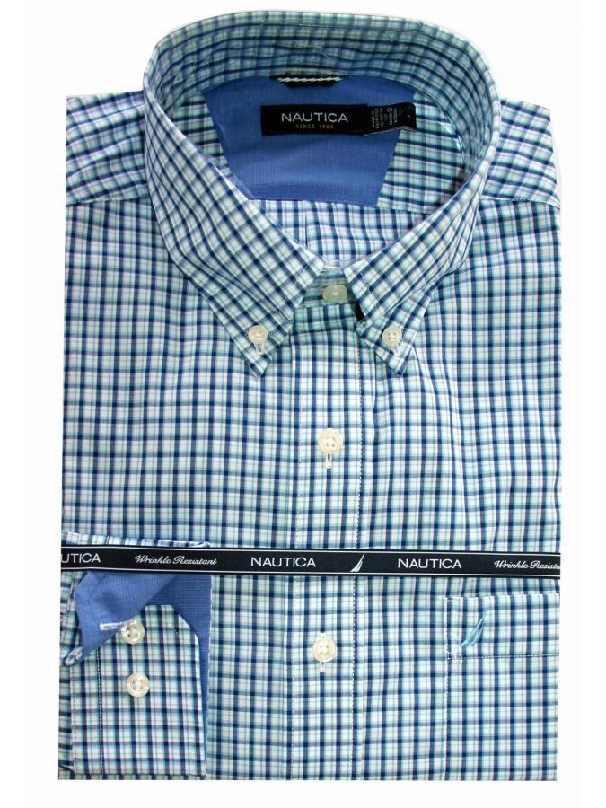 NAUTICA Ανδρικό καρό πουκάμισο, με τσέπη