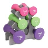 20 lbs Hourglass Dumbbell Set - Found it at Wayfair -  Sale for $24.20