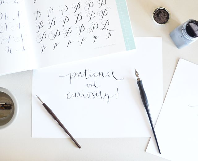 Best pointed pen calligraphy images lettering