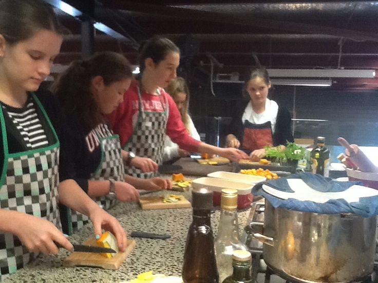 Creating ravioli filling