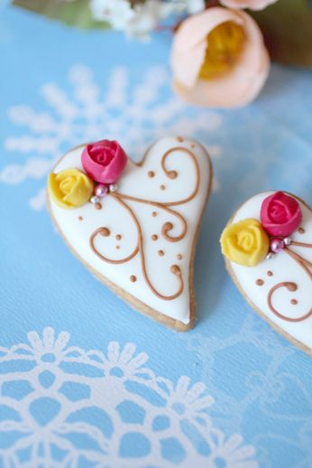 Heart cookies  アイシングクッキー イベントについての画像   おうちパティシエへの一本道