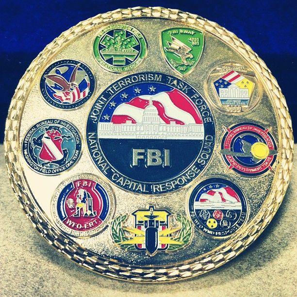 The opposite side of the FBI National Capital Response