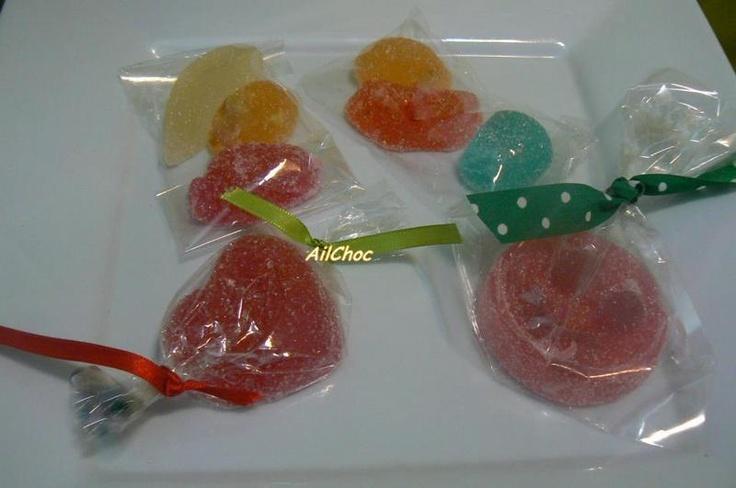 Nuestros bombones de fruta!!!