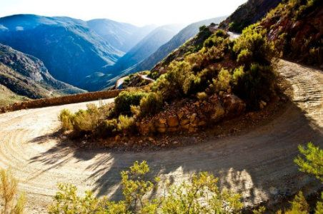 The breathtaking Swartberg Pass. A UNESCO World Heritage Site, this unpaved mountain pass climbs just shy of a mile high through lichen-covered cliffs; its craggy surrounds are perfect for epic hiking and mountain-biking expeditions. Close to the Swartberg pass is the town of Prince Albert, a serious contender for South Africa's most charming town in the karoo region. #Swartbergpass #PrinceAlbert #Karoo #UNESCO #heritagesite #mountainbiking #mountainpass