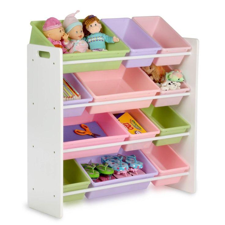 Honey Can Do Kids Toy Organizer and Storage Bins