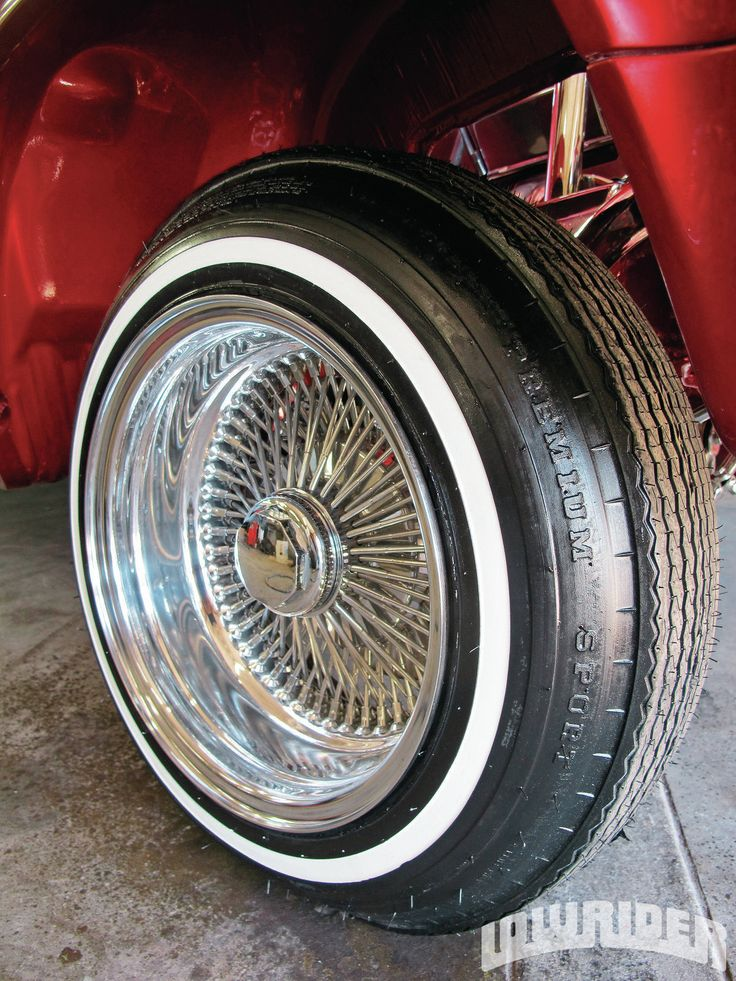 Lowrider Rims And Tires >> 1302-lrmp-13-o+coker-tire-5-20+tire-ready-to-roll.jpg (1200×1600) | Wire Rims only | Pinterest ...