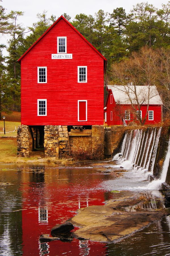 Starr's Mill, Fayetteville, Georgia