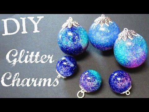 Glitter Charms | DIY Project | Resin Spheres | Craft Klatch | How To - YouTube