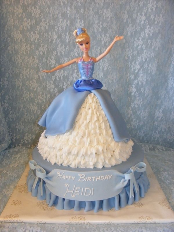 17 Best Images About Princess Barbie Cakes Birthday Cakes