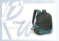 A 'gentle' Cleon This backpack has a substantial design, very fitting for skul, especially for books