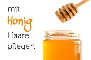 Joghurt und Honig sind der idealer Helfer für fettige Haare! Jetzt selbe ausprobieren.