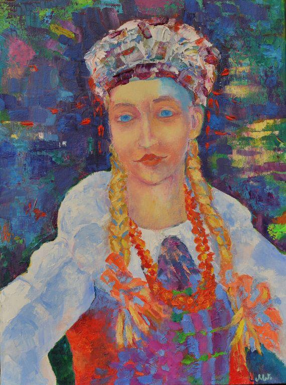 Original Painting Art Modern Impressionist by TanabeStudio on Etsy