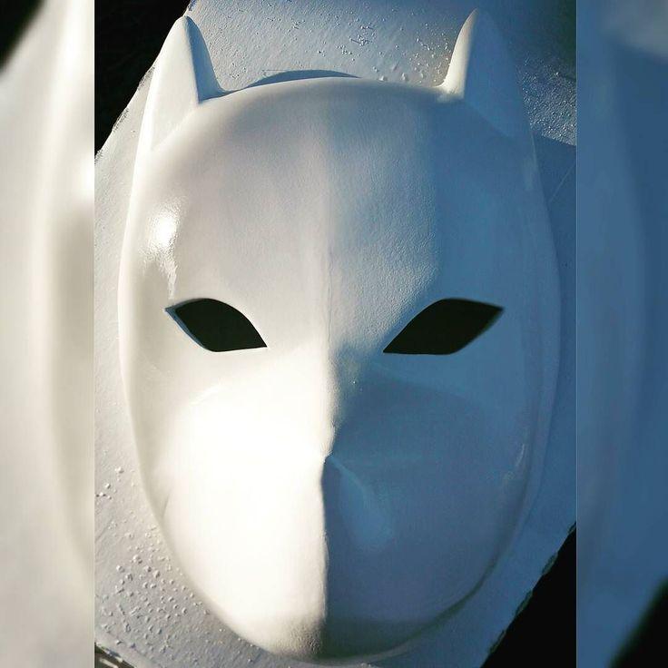 #Kakashi #Anbu #mask #cosplay  By @eddiehxc  Just about done!  #3dprinting #art #naruto #painting #artist #SanDiego #cosplayer #VETERAN #1111 http://ift.tt/1OAP5Vj http://ift.tt/1bBEgEw by eddiehxc