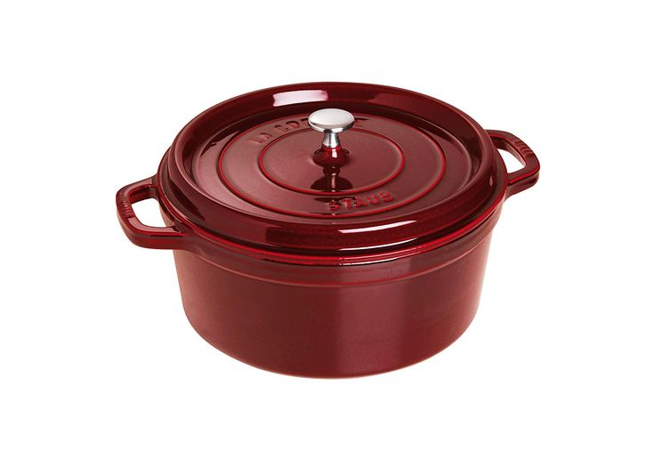 5 1/2-Qt. Round Dutch Oven Color: Grenadine -- Check this awesome product by going to the link at the image.