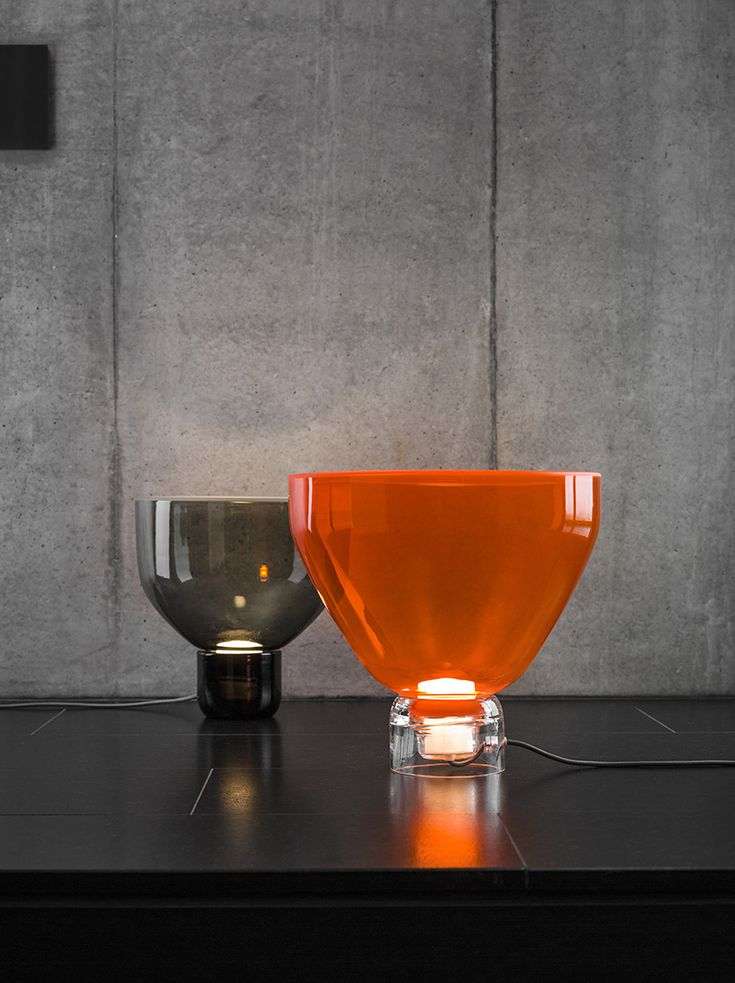 """The designer Lucie Koldova likes to work with glass. The """"Lightline"""" light series is one of her most famous designs."""