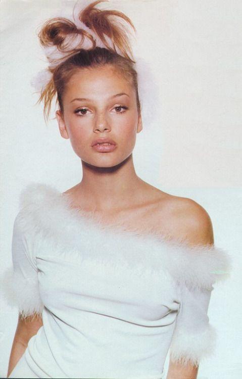 pureheroinechic: Swing Shift Model: Bridget HallPh: Steven MeiselUS Vogue May 1994