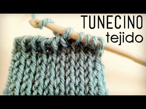 Aprendemos a tejer el Punto Tejido en Crochet Tunecino / Video Tutorial | Patrones para Crochet