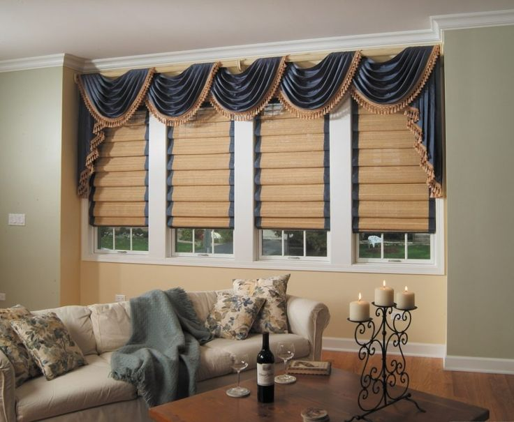 Awesome Marvellous Window Ideas For Living Room Design With White Frame In Family Valances