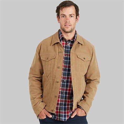 Swanndri Men's Maling Moleskin Jacket