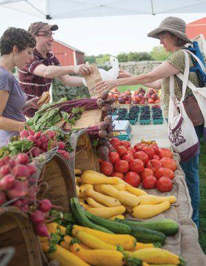 Connecticut Farmers' Markets: Farm Fresh - Connecticut Magazine - July 2013 - Connecticut