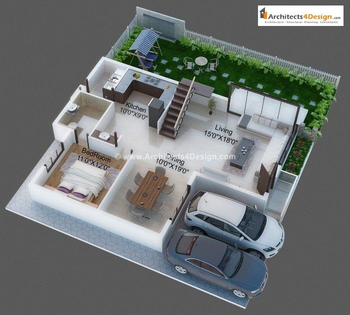 Download 3d House Plans For 30 40 Finddeals Info 3d House