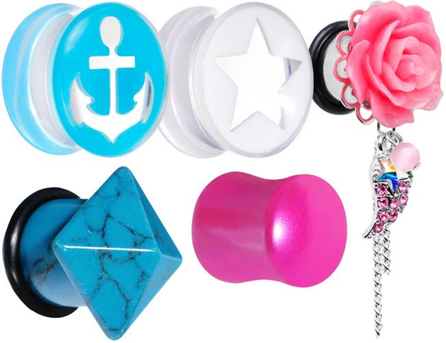 SHOP Clearance Plugs >> Body Jewelry for Your Stretched Ear Lobes