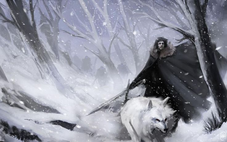 Jon, Ghost and The Others