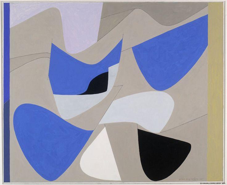 Augustson, Göran - 1975, Sahara. Gouache. 56 x 69 cm. Finnish National Gallery.