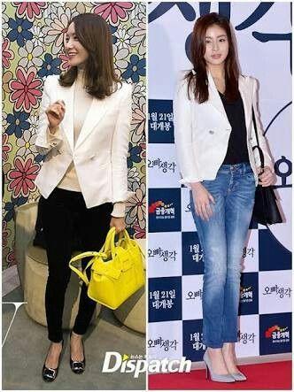 Im Yoona X Kang Sora 👉 Kang Sora casual style 💕
