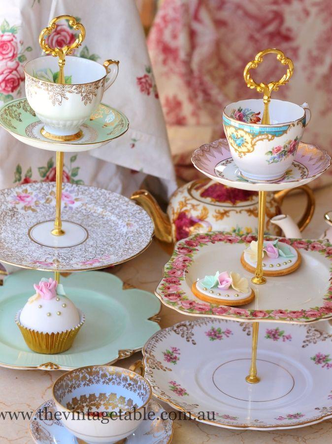 Vintage Wedding Cake Stands Australia