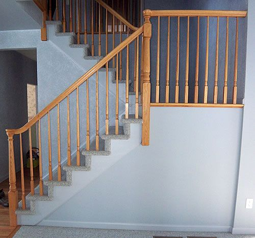 Painting Stairs Diy Faqs And Tips Next On The List Of To Dos Rip Out The Carpet