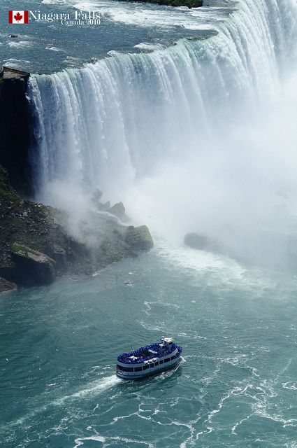 25 Incredible Places Worth To Visit One Day.  I went on the Maid of the Mist boat tour.  A must.