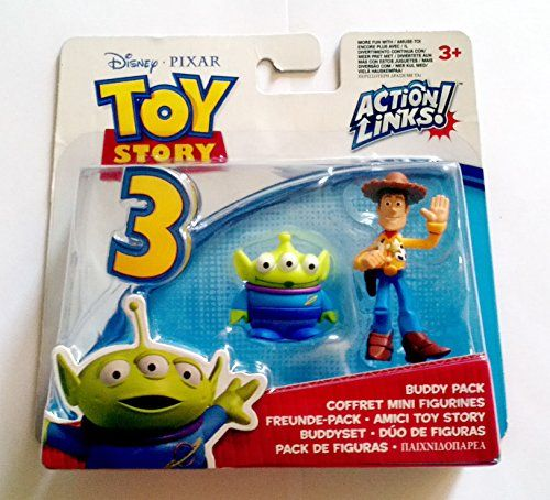 Disney / Pixar Toy Story 3 Action Links Mini Figure Buddy 2Pack Alien Waving Woody Mattel http://www.amazon.com/dp/B003PST582/ref=cm_sw_r_pi_dp_tROlvb19JG457