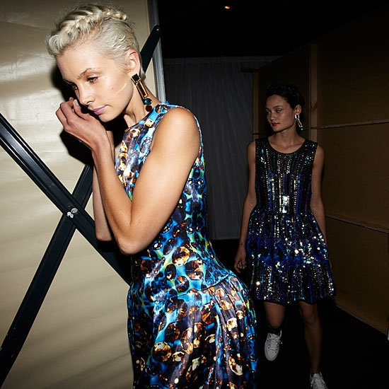 ASOS, Behind the scenes, fashion show, #hair, #hairstyling, #headcase, #model, #sydney