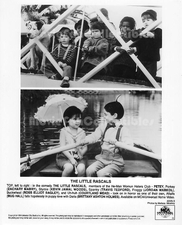 The Little Rascals Photo Ross Bagley Travis Tedford Bug Hall
