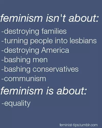 Did you know I am a feminist? Probably not, because there are a lot of stereotypes associated with feminism. I am asking you to learn what feminism and is about before judging. Being a young lady yourself it is important for you to know and be aware of what feminist stand for.