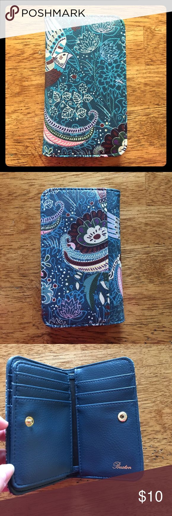 RFID Buxton Wallet RFID Protection! So no one can steal your identity! Never used. NWOT. Pretty real and bird design. No marks or stains. Smoke free home. Make me an offer! Bags Wallets