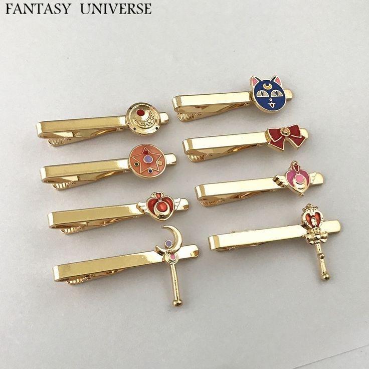 FANTASY UNIVERSE Freeshipping 20pc a lot Sailor moon Tie Clip YSDMLDJ01