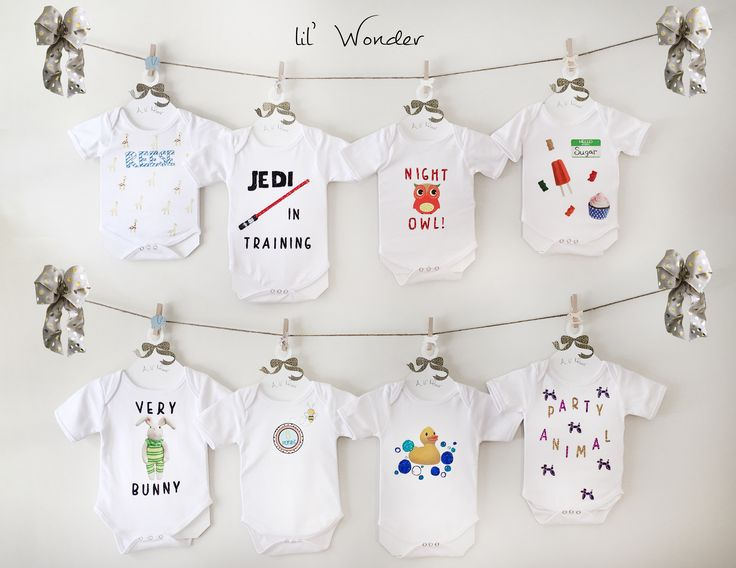 The Ultimate Baby Shower Gift! A Onesie Decorating Kit For Boy, Girl, Or