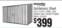 Garden shed from Bunnings