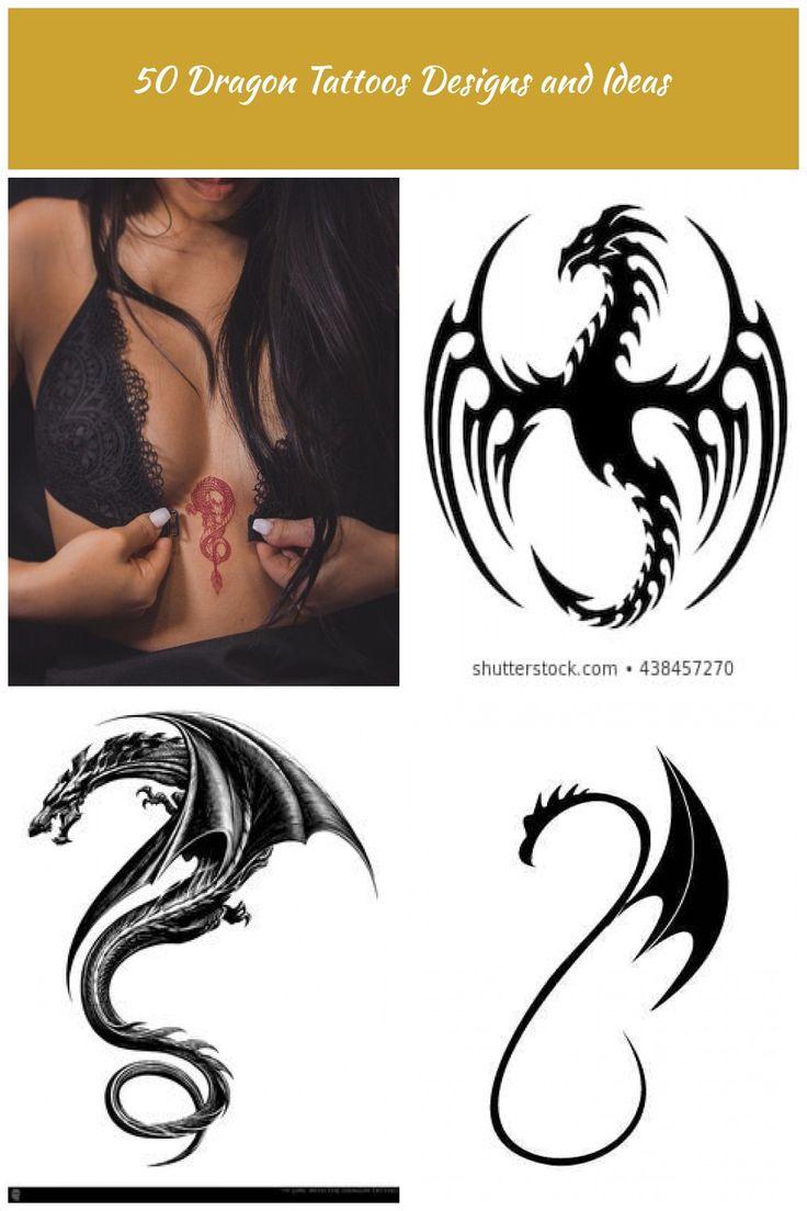 tatouage dragon tatouage dragon tribal encre rouge Gko   – diy-jewelry-bracelets