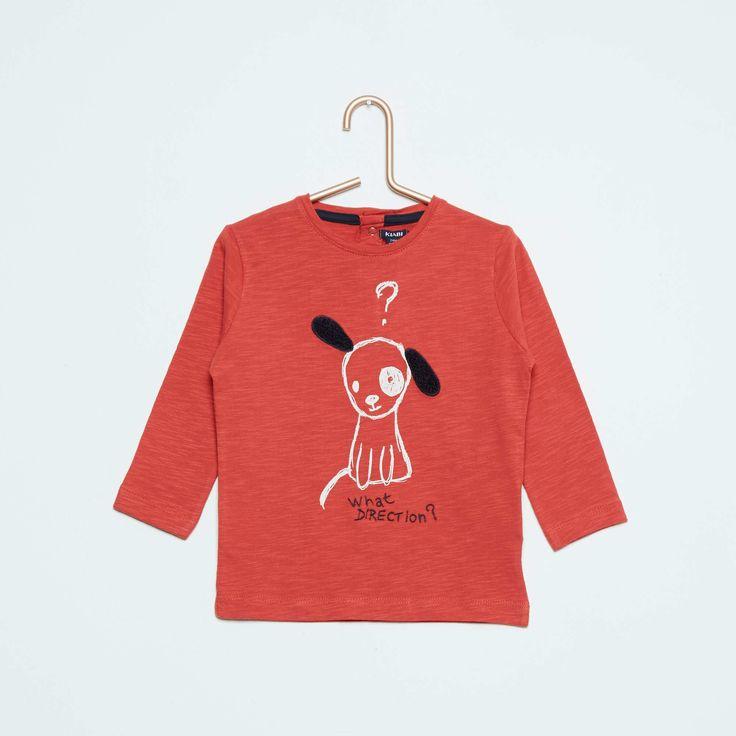 Tee-shirt à manches longues Bébé garçon - Kiabi - 6,00€